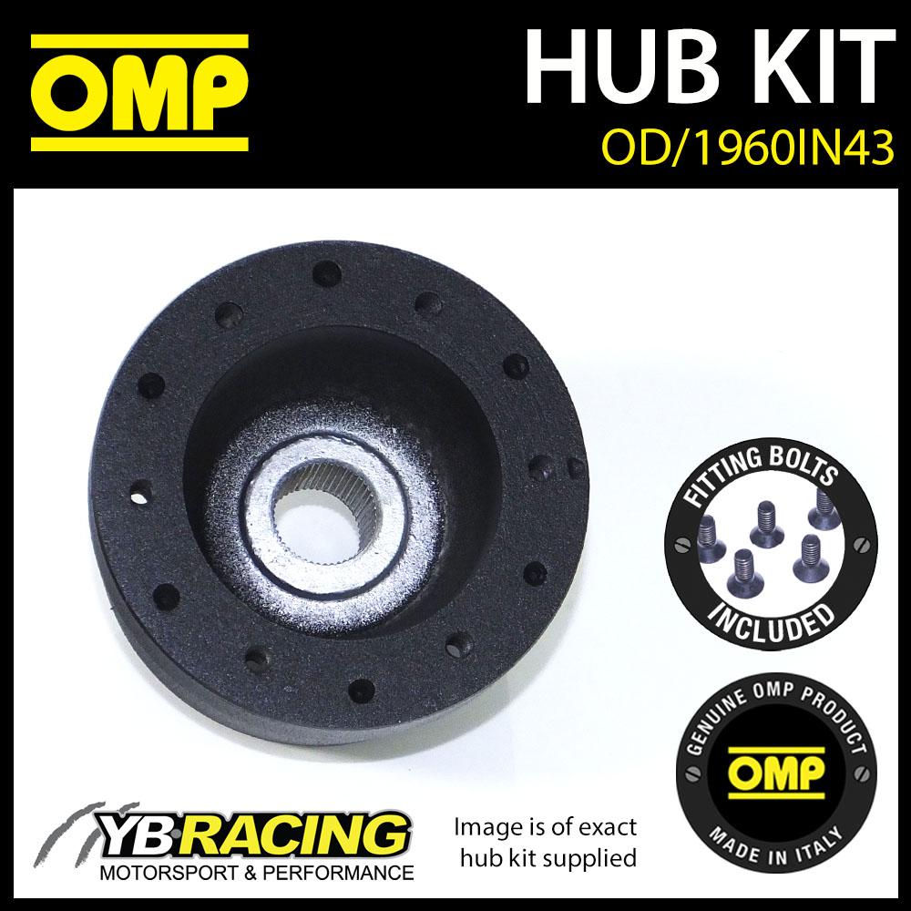 Omp Steering Wheel Hub Boss Kit For Rover Mini Cooper 91 Od