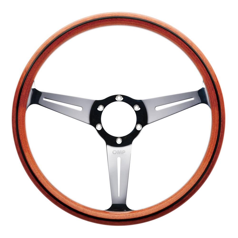 MO OMP MONZA WOODEN HANDMADE STEERING WHEEL CLASSIC CAR VINTAGEOD - Classic car wheels