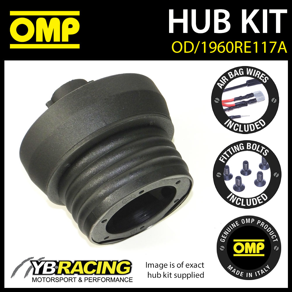 OMP STEERING WHEEL HUB BOSS KIT for RENAULT CLIO MK3 197 CUP (15mm) 08-12