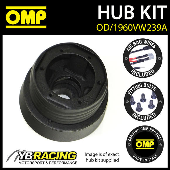 OMP STEERING WHEEL HUB BOSS KIT for VW POLO GTI / FSi 02-08  [OD/1960VW239A]