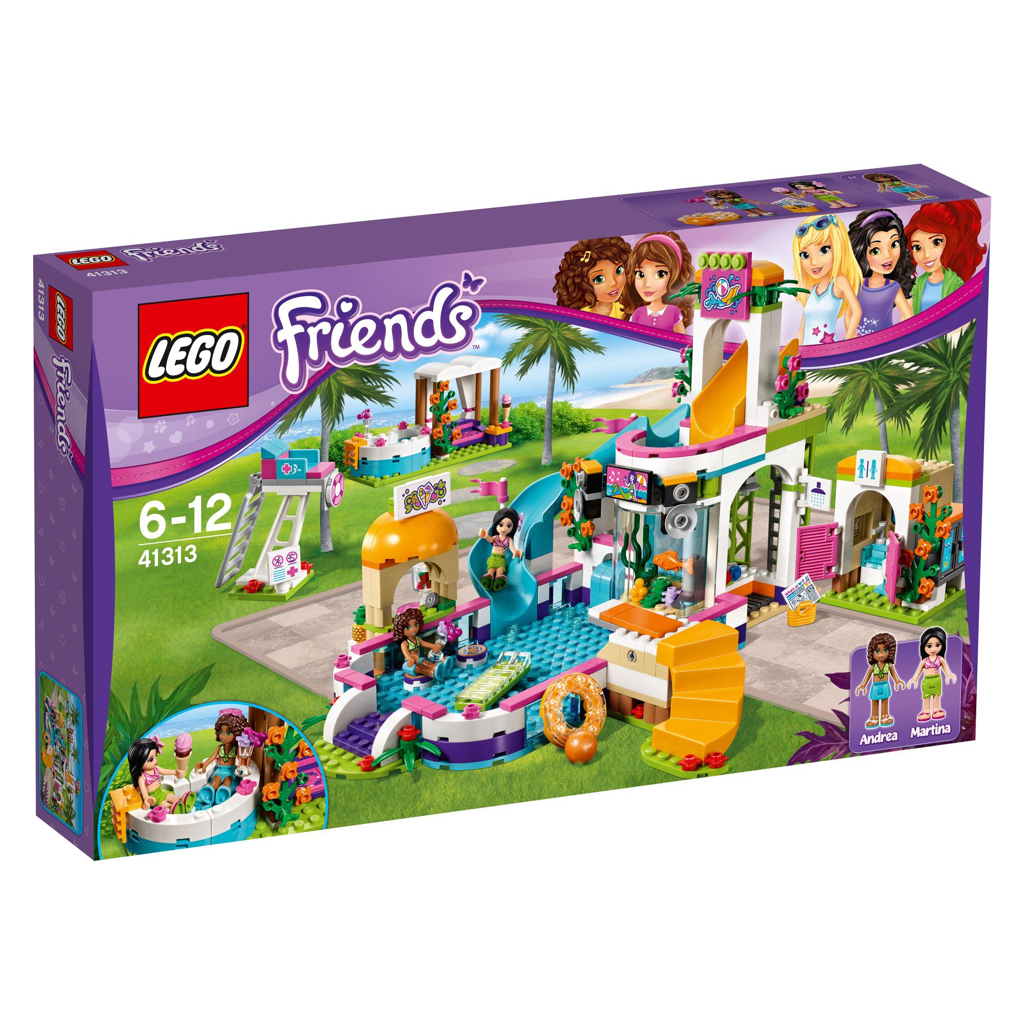 41313 Lego Friends Heartlake Summer Pool Andrea Martina 589 Pcs 6