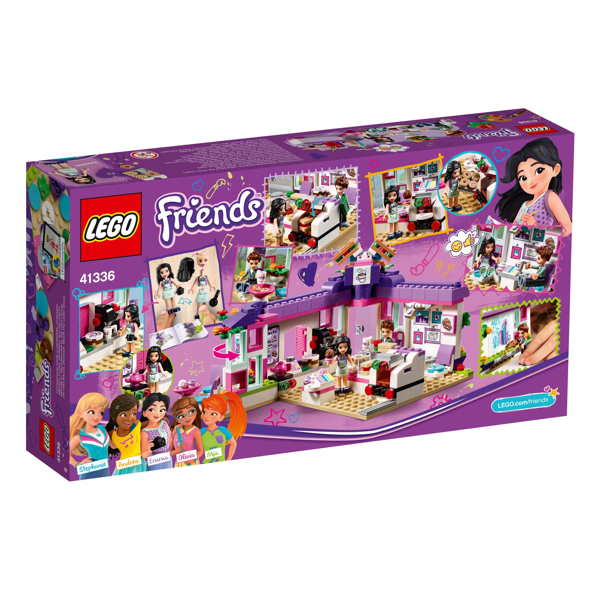 41336 LEGO Friends Emma's Art Café Set 378 Pieces Age 6 ...