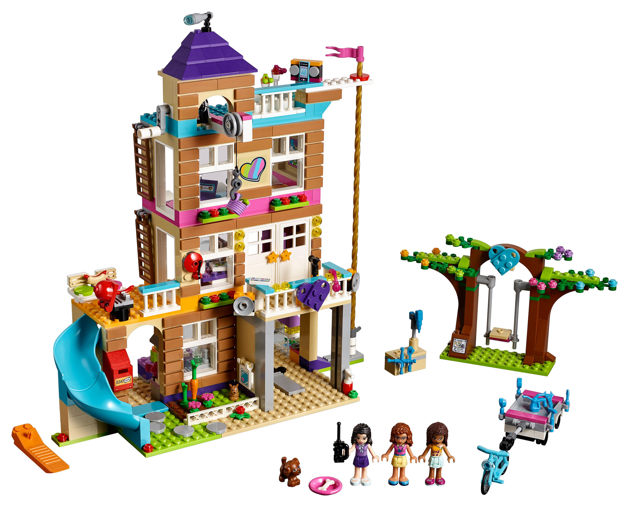 41340 Lego Friends Friendship House Set 722 Pieces Age 6