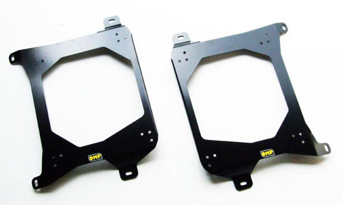 MITSUBISHI LANCER EVO 6 MAKINEN ALL OMP RACING BUCKET SEAT MOUNT SUBFRAMES (2)