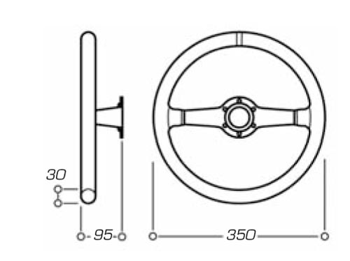 Genuine Hyundai 56110-24500-AQ Steering Wheel Assembly