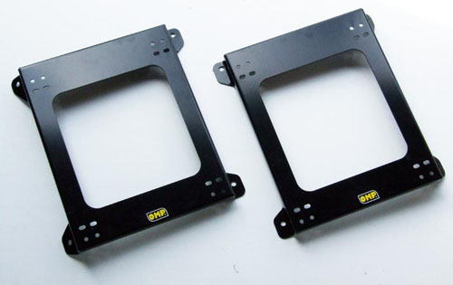 PORSCHE 911 (996 / 997) 97- OMP RACING BUCKET SEAT MOUNT SUBFRAMES TWIN PACK