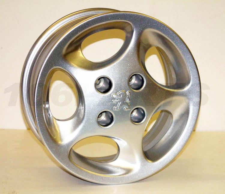 "DISCONTINUED Peugeot 106 GTi S16 SPORT QUIKSILVER Genuine Peugeot Raptor 14"" Alloy Wheel"
