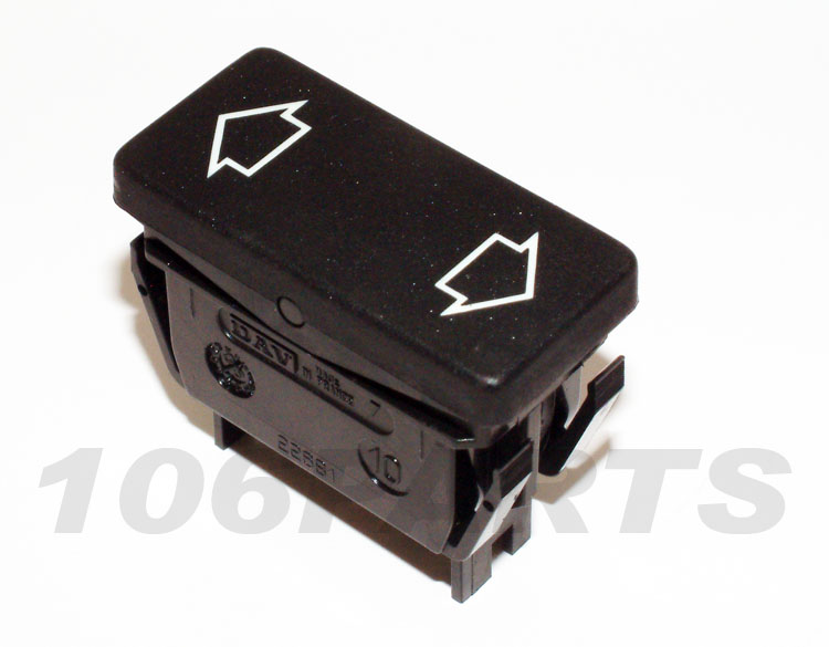 Peugeot 106 Electric Window Switch 106 GTi 16v S16 - New Genuine Peugeot Part