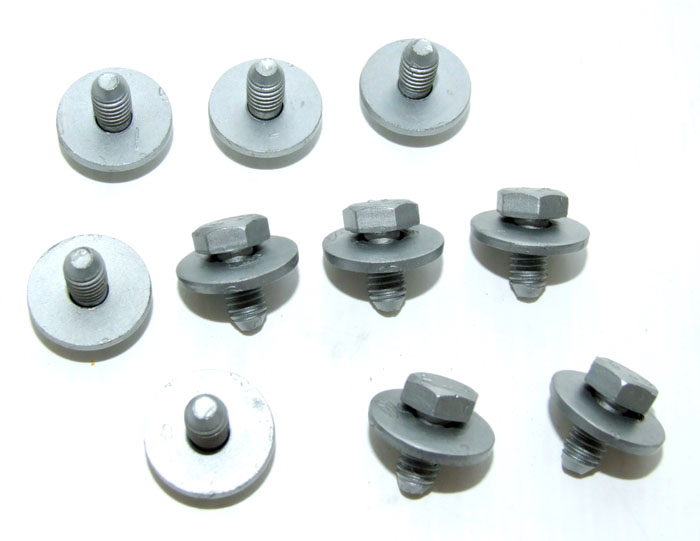 Peugeot 106 Exhaust Heat Shield Fixing Screws (10) XS XSi RALLYE GTi QUIKSILVER