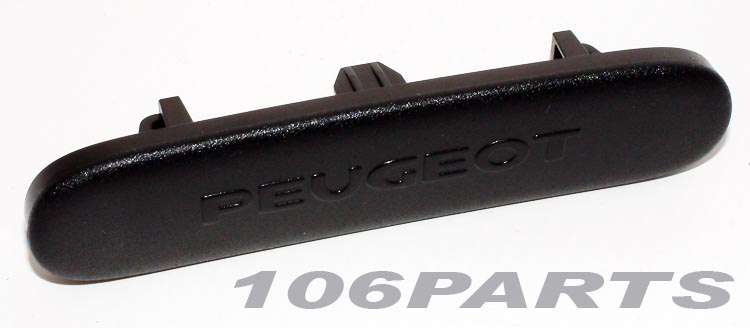 Peugeot 106 Dashboard Badge for 106 GTi 16v S16 - New Genuine Peugeot Part