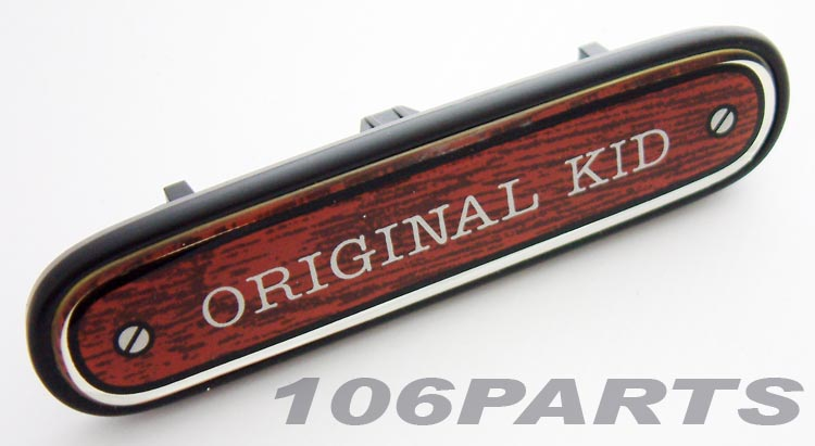 Peugeot 106 ORIGINAL KID Dashboard Badge - New Genuine Peugeot Part