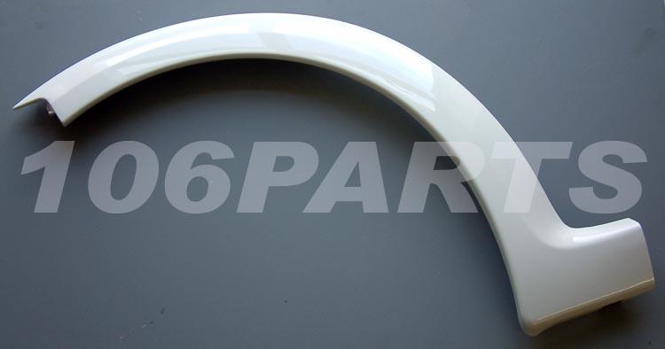 DISCONTINUED Peugeot 106 R/H SPORT Rear Wheel Plastic Arch 106 GTi Rallye Quiksilver S16
