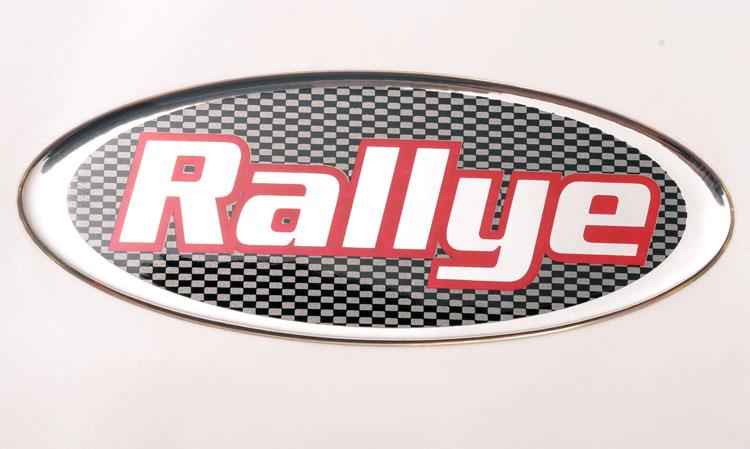 "Peugeot 106 Peugeot Dealer Special Edition 106 ""Rallye"" Badge - Genuine Peugeot"