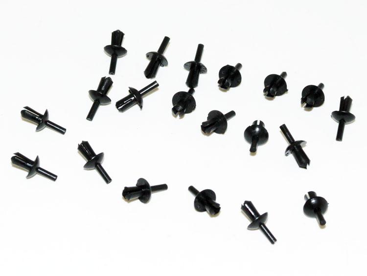 Peugeot 106 Door Seal Fixing Rivets (Pack of 20) XS XSi RALLYE GTi QUIKSILVER
