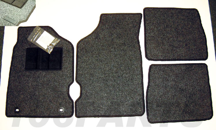 Peugeot 106 Genuine Carpet Mat Set (RHD only) XS XSi RALLYE GTi QUIKSILVER - New