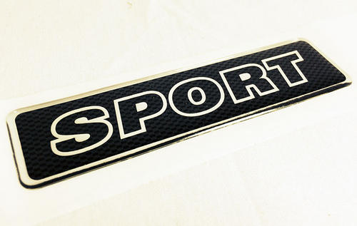 "Peugeot 106 Peugeot ""SPORT"" Body Badge - New Genuine Peugeot Part Thumbnail 1"