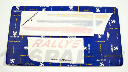 Peugeot 106 1.6 Rallye 96-98 Side Decal Sticker R/H - New Genuine Peugeot Part Thumbnail 1