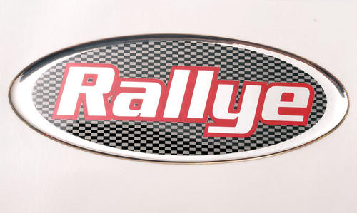"Peugeot 106 Peugeot Dealer Special Edition 106 ""Rallye"" Badge - Genuine Peugeot"
