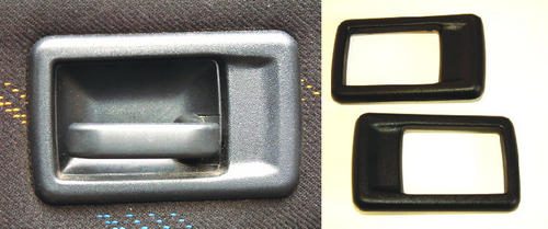 Peugeot 106 Interior door handle covers (PAIR) XS XSi RALLYE GTi QUIKSILVER Thumbnail 1
