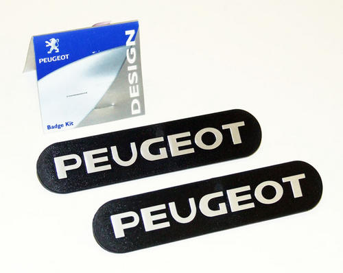 Peugeot 106 Mud Flap Badges (x2) XS XSi RALLYE GTi QUIKSILVER S16 - Genuine Part Thumbnail 1