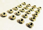 Peugeot 106 Exhaust Heat Shield Washer Nuts (20) XS XSi RALLYE GTi QUIKSILVER