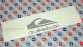 Peugeot 106 Quiksilver Body Badge - New Genuine Peugeot Part