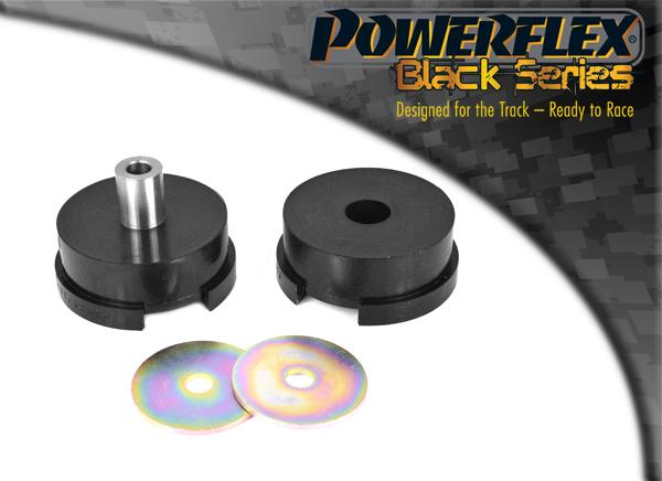 PEUGEOT 206 PFF50-306BLK POWERFLEX BLACK SERIES FRONT LOWER ENGINE MOUNT