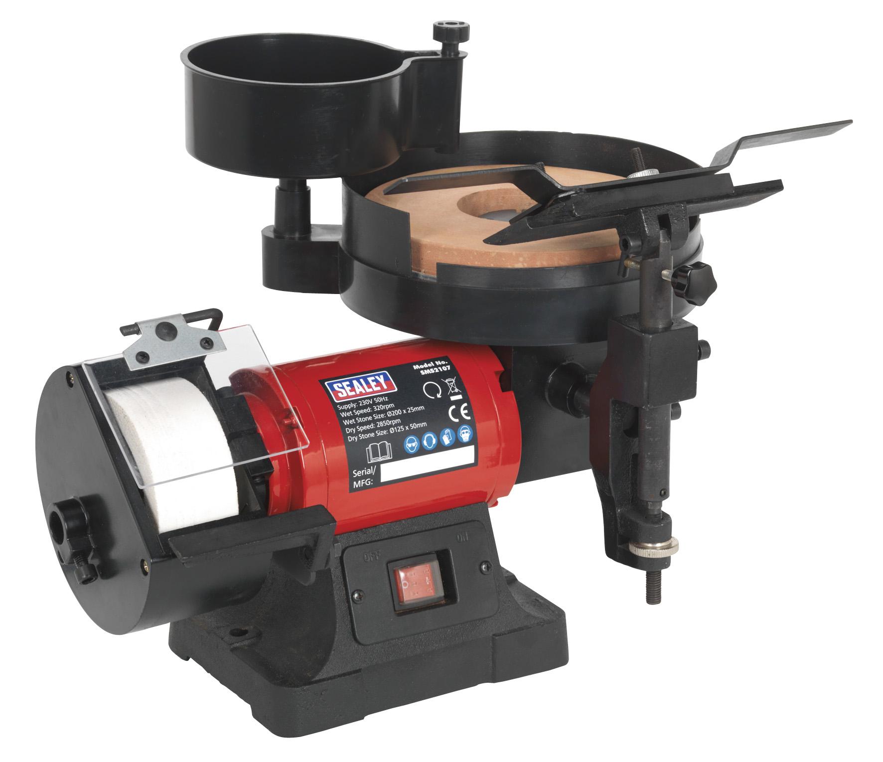 Sms2107 Sealey Bench Grinder Sharpener Wet Amp Dry 216 200