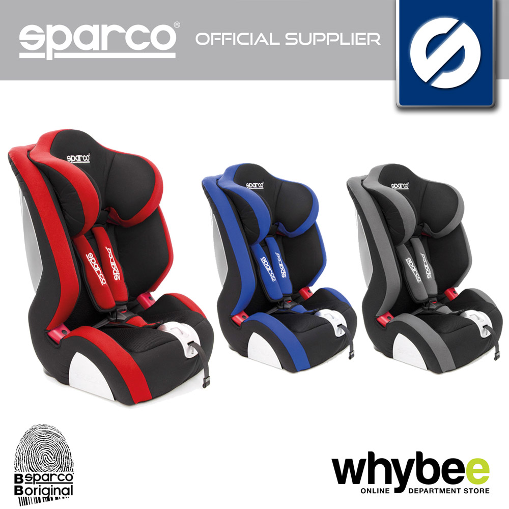 00926 Sparco F1000 K Childrens Baby Car Seat Group 1 2 3 9 36kg Age