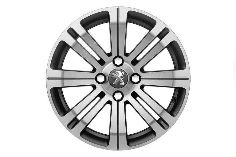 "NEW! PEUGEOT 2008 16"" CETUS ALLOY WHEEL (x1)  - GENUINE PEUGEOT UPGRADE WHEEL!"