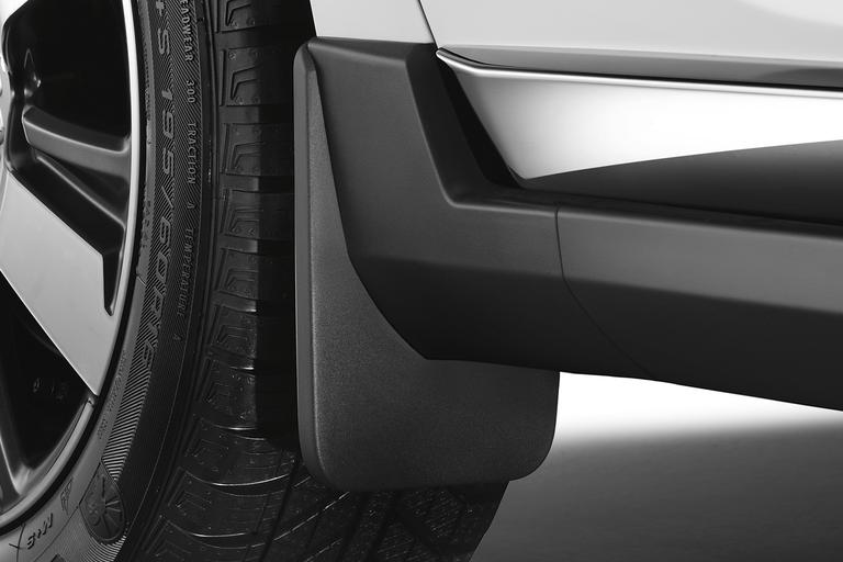 NEW! PEUGEOT 2008 STYLED MUD FLAPS - FRONT - GENUINE PEUGEOT ACCESSORY