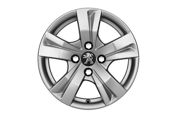 "NEW! PEUGEOT 2008 15"" DRACO ALLOY WHEEL (x1)  - GENUINE PEUGEOT UPGRADE WHEEL! Thumbnail 1"