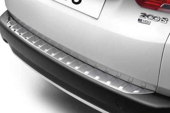 NEW! PEUGEOT 2008 BOOT SILL PROTECTOR - GENUINE PEUGEOT ACCESSORY Thumbnail 1