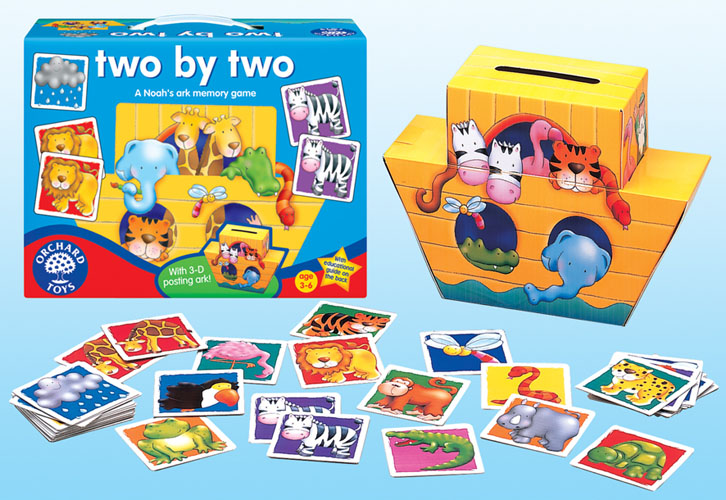 Orchard Toys 053 Two by Two Kids Childrens Toddler Fun ...