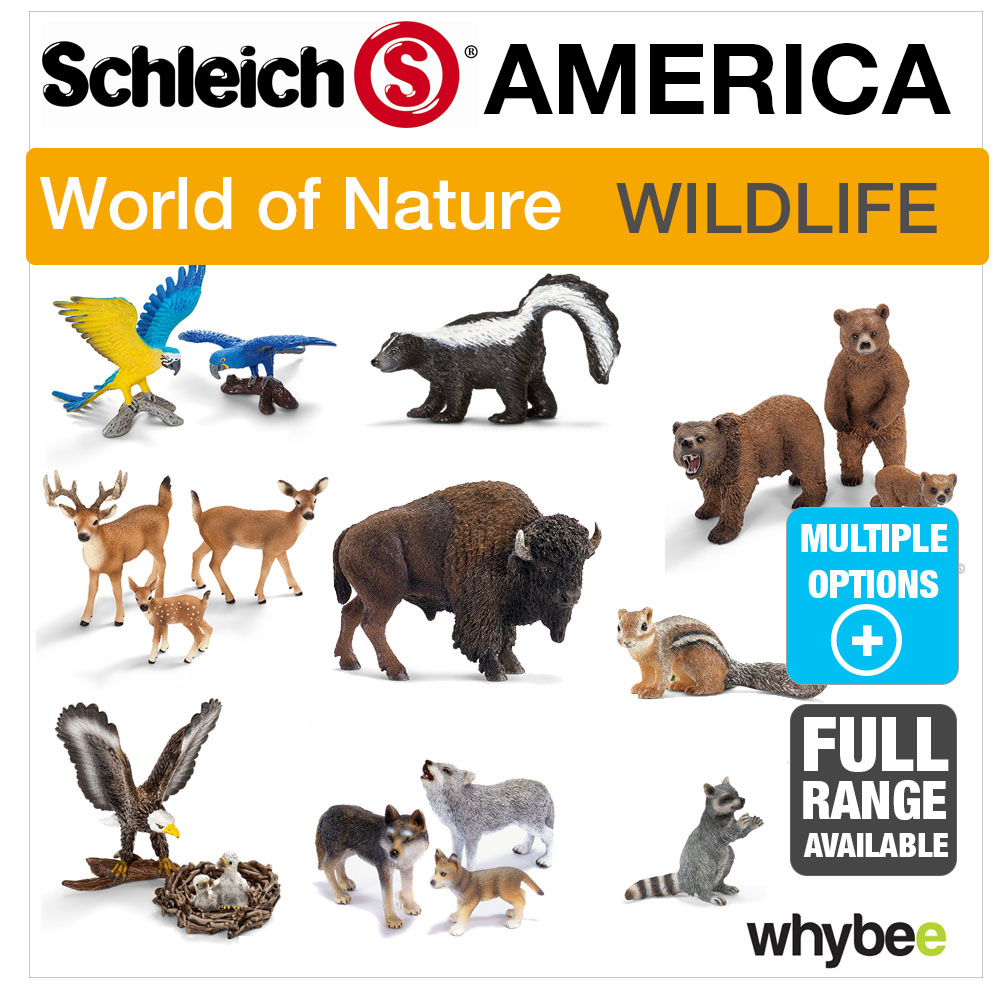Schleich World Of Nature America Animal Toys Figures Figurines