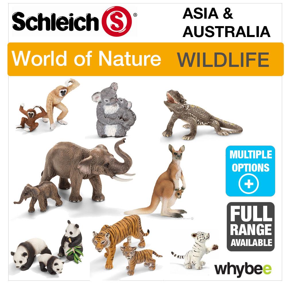 ANIMAL TOYS /& FIGURES FIGURINES SCHLEICH WORLD OF NATURE ASIA /& AUSTRALIA