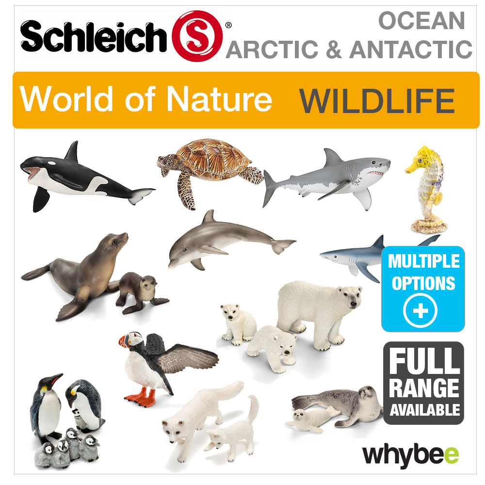 Schleich World Of Nature Arctic Antarctic Animal Toys Figures