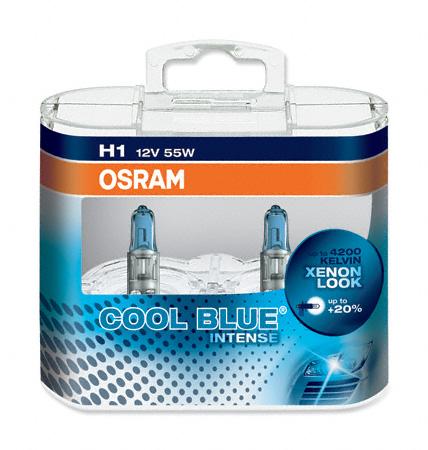 H1 Osram Cool Blue Intense PEUGEOT 407 SW 04 Low Beam Headlight Bulbs