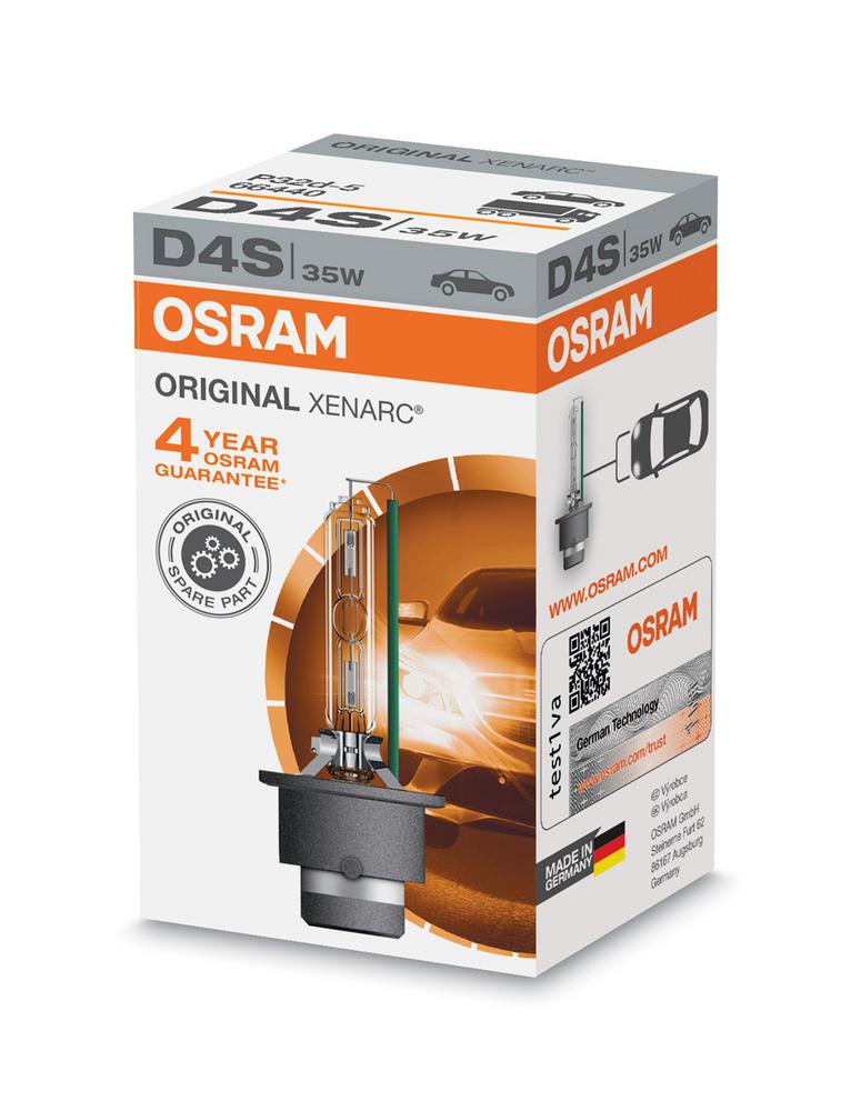 Osram D4S Original XENARC HID Xenon Gas Upgrade Bulb (x1) 35W 66440 P32d-5