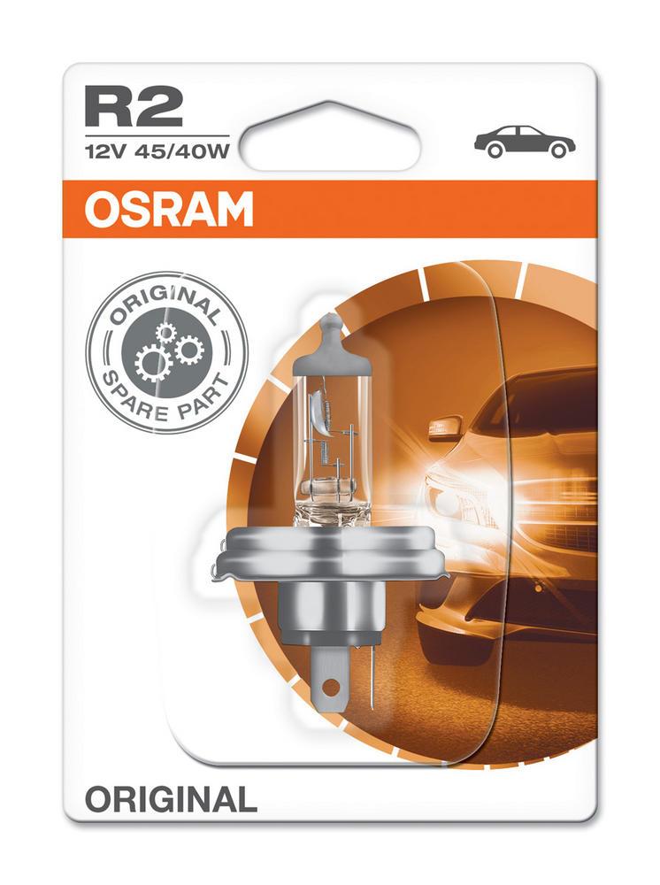 Osram R2 (410) Bilux Haloroad Bulb x1 12V 45/40W Standard upgrade 64183-01B