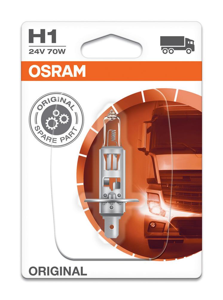 Osram H1 24v 70w Standard Replacement Original Headlight Bulb Foglight 64155-01B