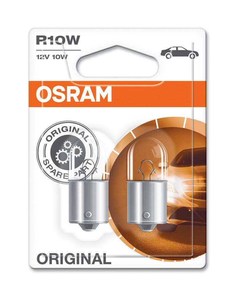 Osram R10W (245) 10W Original Standard Brake Light Bulbs BA15s 5008-02B