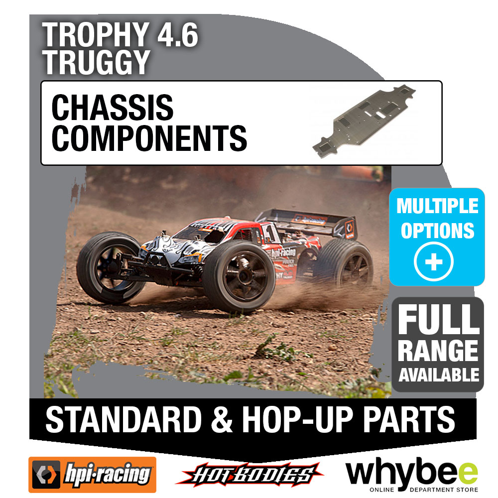 # 101202 HPI TROPHY 4.6 TRUGGY 7075 ALUMINUM CHASSIS