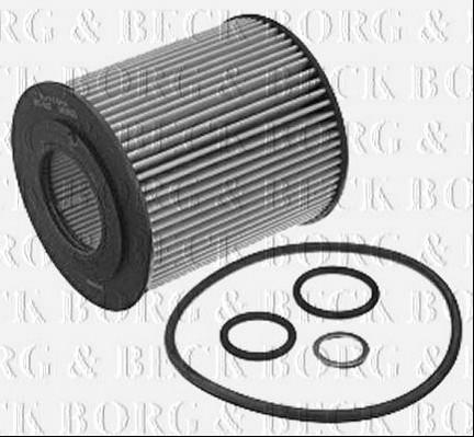 Bfo4037 Borg Beck Oil Filter Fits Bmw 31seriese46e90e87 New