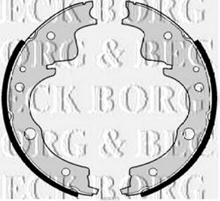 Borg /& Beck BBS6356 Brake Shoes and Accessories