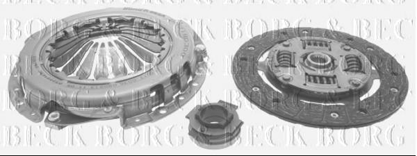 Borg /& Beck HK2749 Clutch Kit 3-in-1