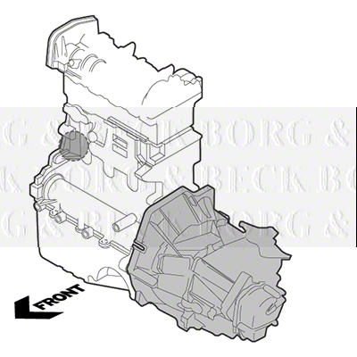 Bem3224 Borg Beck Engine Mount Fits Citroen Saxo Peugeot 106 96