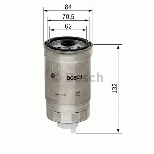 Filtro De Combustible Bosch 1457434436