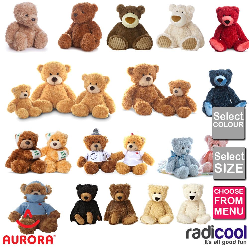 60608 aurora world james traditional teddy bear plush toy l light