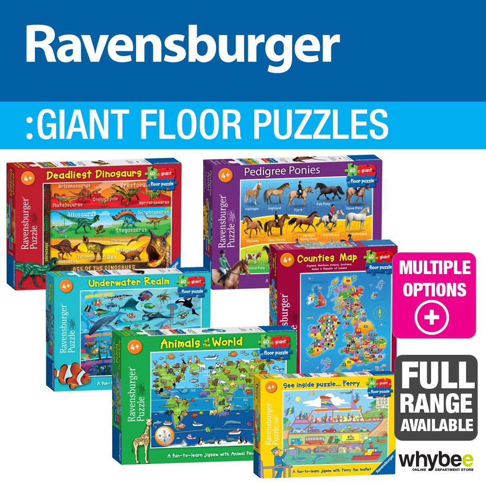Ravensburger Children's Giant Floor Jigsaw Puzzles 60